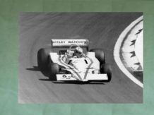BRM P207 Conny Anderson French GP 1977 Rare 10x7 inch photo